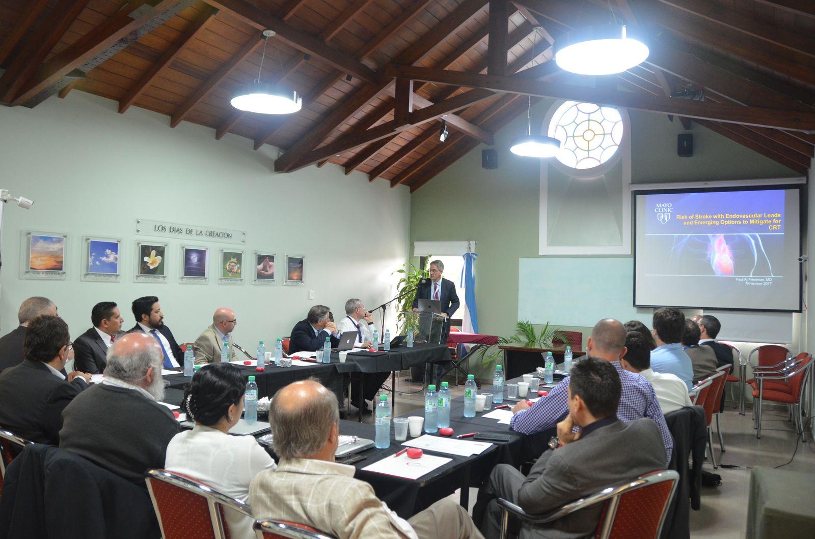 1º WORKSHOP INTERNACIONAL EN TERAPIA DE RESINCRONIZACIÓN CARDÍACA POR VÍA TRANSEPTAL